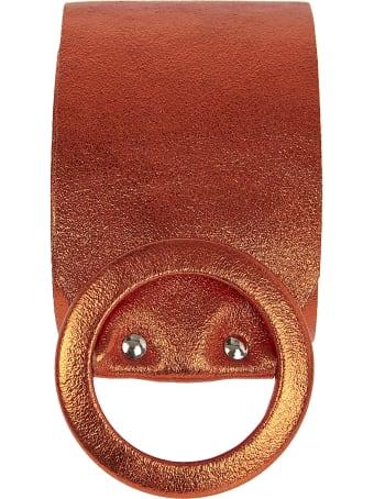 aniye by Round Buckle Belt