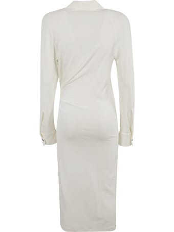 Bottega Veneta Dense Crepe Jersey Dress