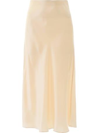 Le Kasha Long Silk Skirt