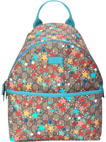 Gucci Gg Sand Backpack