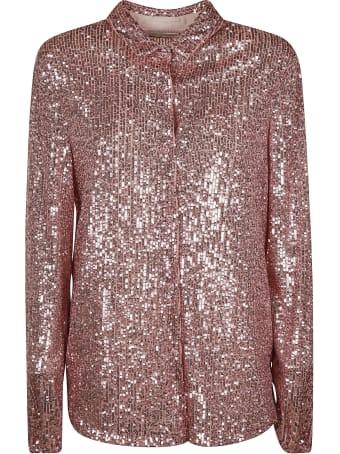 Be Blumarine Sequin-coated Shirt