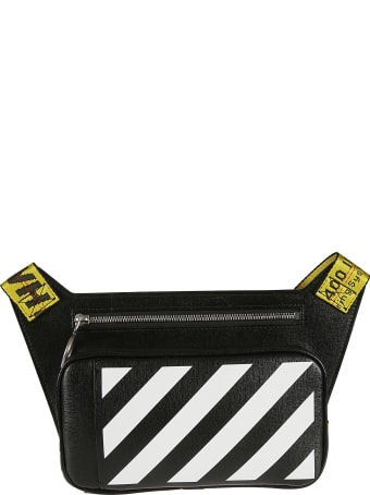 Off-White Diag Leather Crossbody Bag