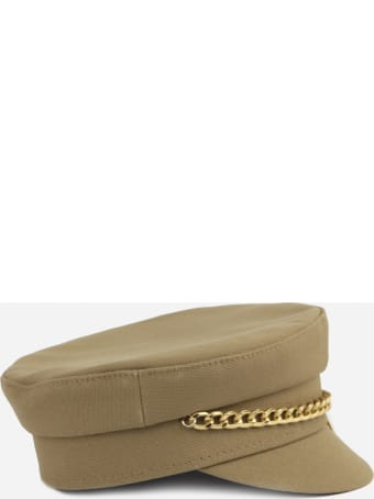 Ruslan Baginskiy Baker Boy Hat In Cotton Canvas