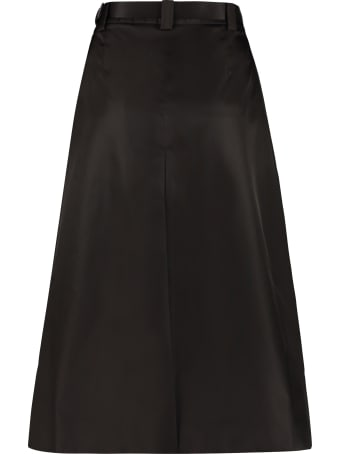 Prada Technical Fabric Skirt