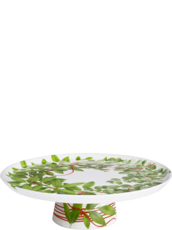 Taitù Cake Stand - Fil Rouge Foglie Collection