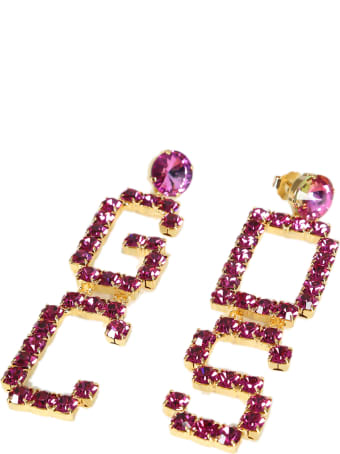 GCDS Mix Strass Earrings