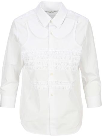 Comme Des Garçons Girl Ruffle Shirt