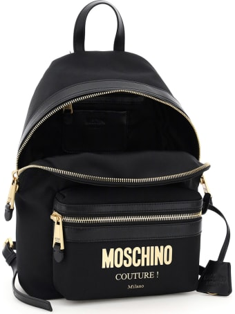 Moschino Canvas Backpack Moschino Couture