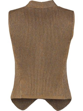 Brunello Cucinelli Lurex Knit Waistcoat