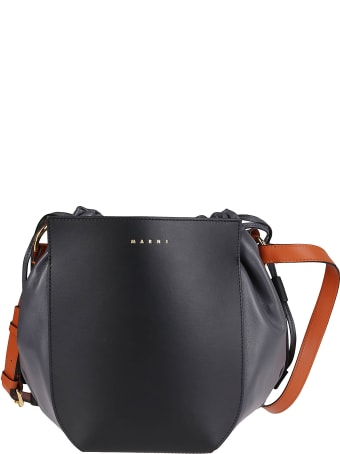 Marni Black Leather Bag
