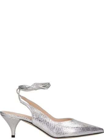 Alchimia Pumps In Silver Leather