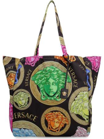Versace Printed Tote Bag