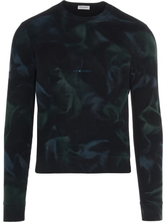 Saint Laurent 'jungle Tie-dye' Sweatshirt
