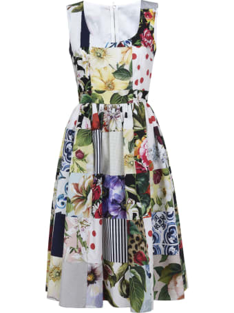 Dolce & Gabbana Floral Sleeveless Dress