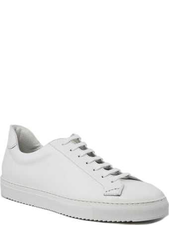 Doucal's Sneaker In White Leather