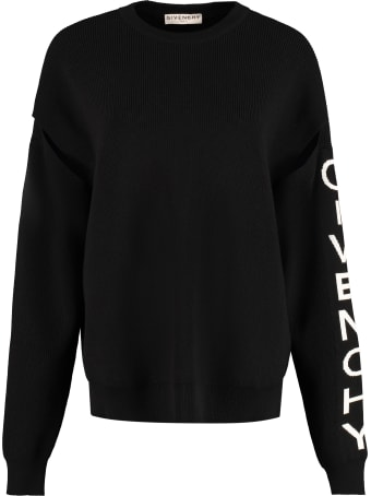 Givenchy Long Sleeve Crew-neck Sweater