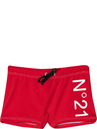 N.21 Red Swimsuit N ° 21 Kids