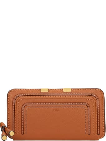 Chloé Long Mercie  Wallet In Leather Color Leather