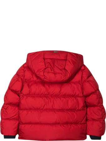 Herno Red Down Jacket