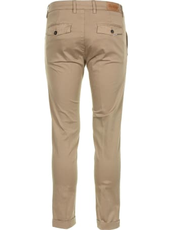 Re-HasH Tobacco Stretch Satin Trousers