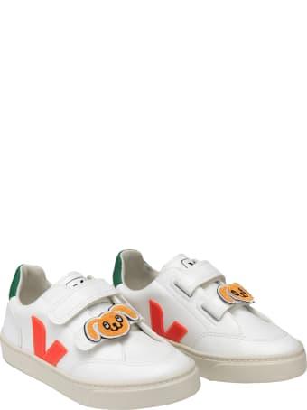Veja White Sneakers For Kids