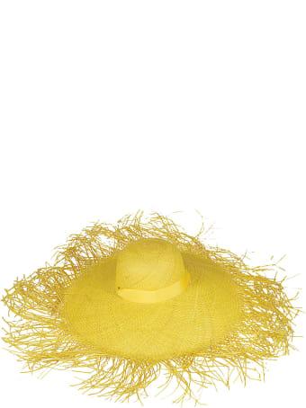 Sensi Studio Yellow Straw Hat