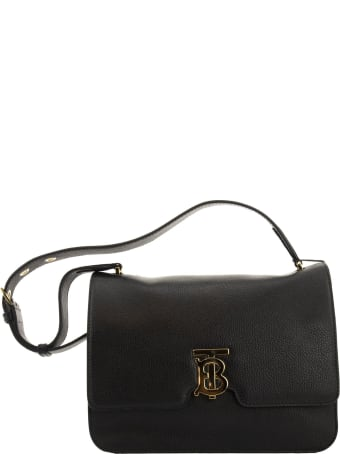 Burberry Alice Medium Grainy Leather Tb Bag