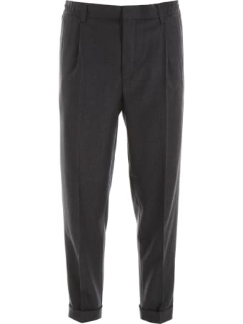 CC Collection Corneliani Drawstring Trousers