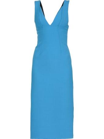 Victoria Beckham Plain Color Dress