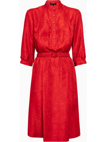 A.P.C. Robe Marion Dress Seajj-f05505