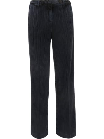 Massimo Alba Ribbed Trousers