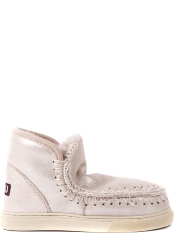Mou Eskimo 18 Powder Leather Ankle Boot