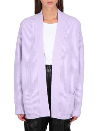 Laneus Rib-knit Cardigan