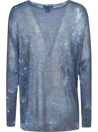 Avant Toi Glitter Applique Sweater