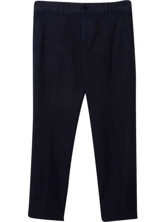 Fay Blue Chino Trousers
