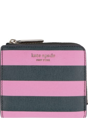 Kate Spade Faux Leather Flap-over Wallet