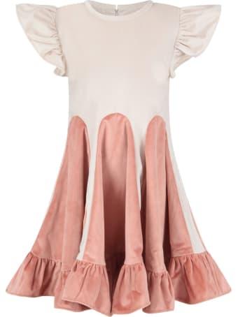 Owa Yurika Ivory ''mio'' Dress For Girl