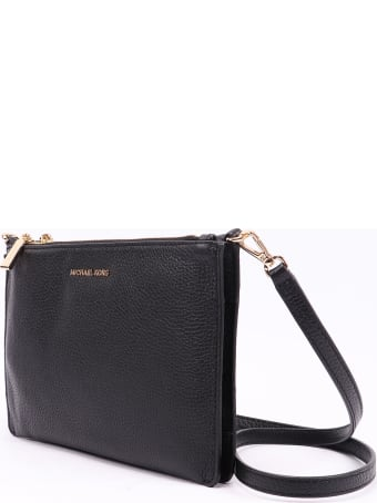 Michael Kors Collection Lg Dbl Pouch Xbody