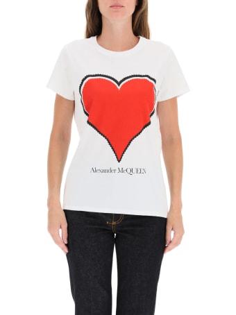 Alexander McQueen Heart T-shirt