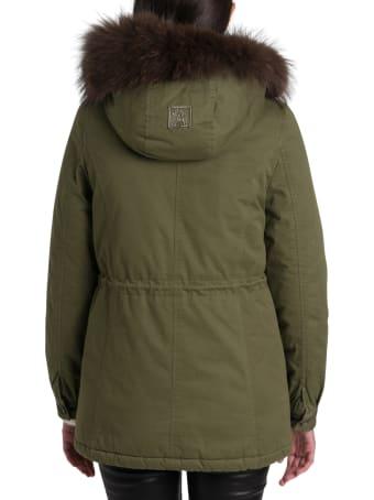 Alessandra Chamonix Raccoon Fur Lined Parka