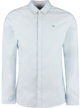Tommy Jeans Oxford Cotton Button-down Shirt