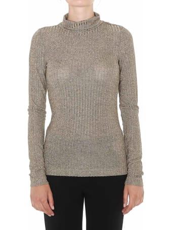 Dondup Metallic Effect Sweater