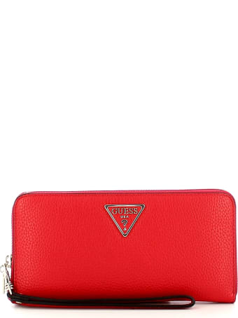 Guess Women's Red Wallet