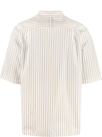 Salvatore Ferragamo Short Sleeve Cotton Shirt