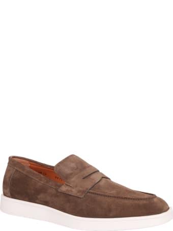 Santoni Slip On Style Sneakers