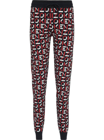 Kenzo Knitted Joggers Pants