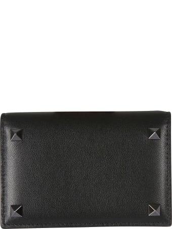Valentino Garavani Rockstud Folded Card Holder