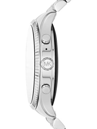 Michael Kors Silvertone Stainless Steel Lexington 2.0 Women's Display Watch