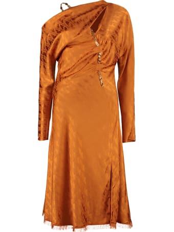 Versace Barocco V Jacquard Dress