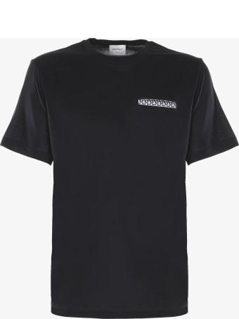 Salvatore Ferragamo Cotton T-shirt With Front Pocket